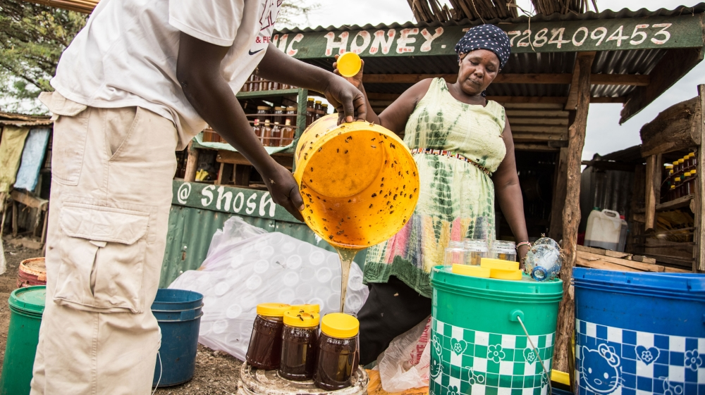 Kenya is not very famous for its honey, but a group of small-time traditional producers hope to change this reputation.