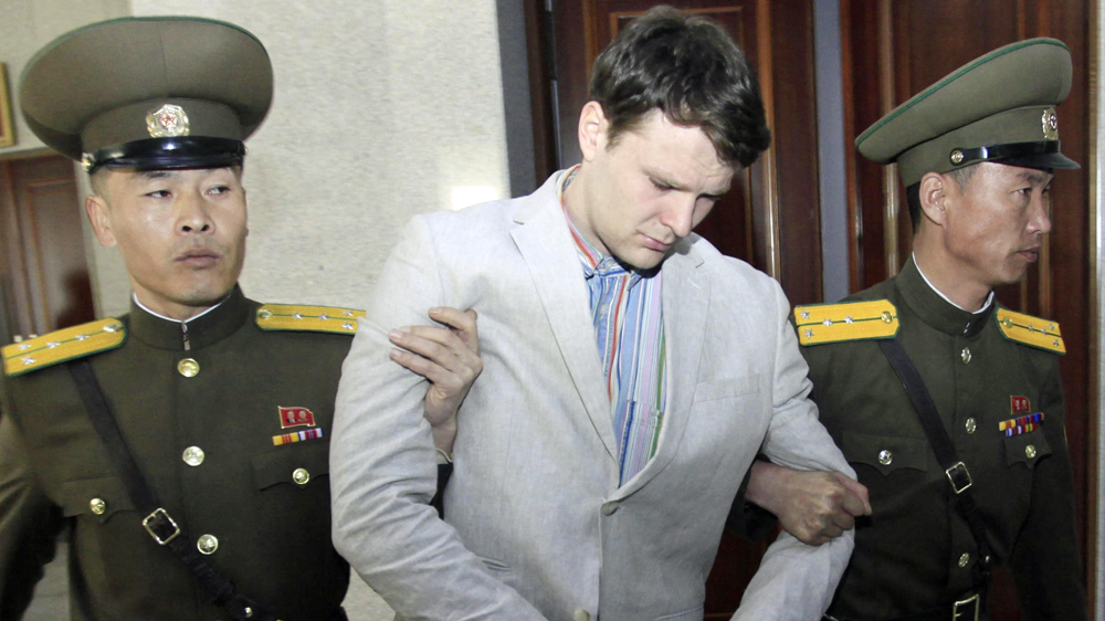 Jailed Otto Warmbier flown out of North Korea 'in coma'