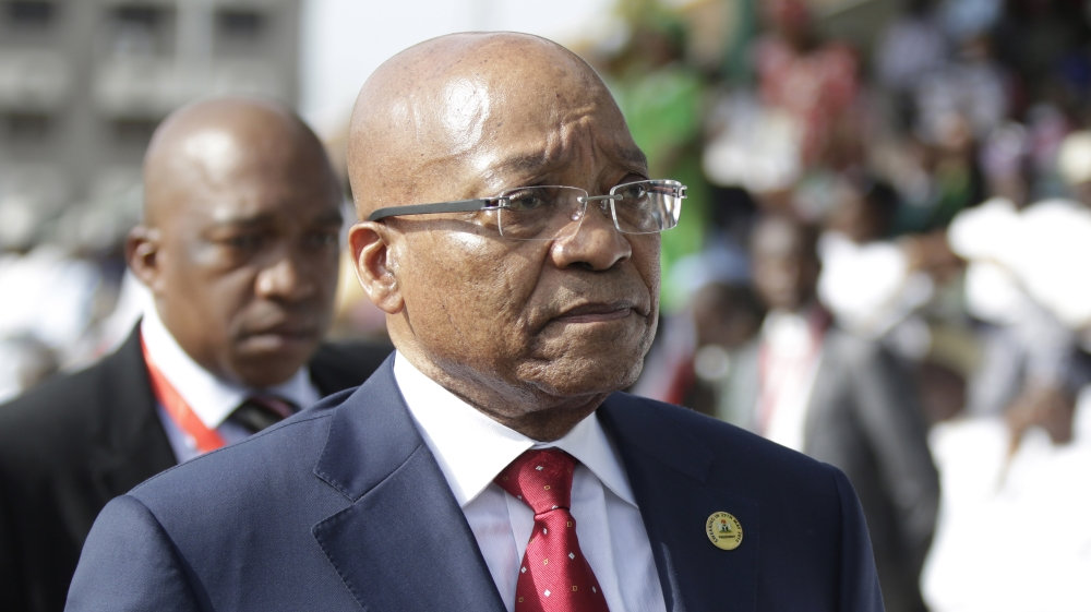 President Zuma faces political storm as allegations emerge over influence of a powerful family on political decisions.