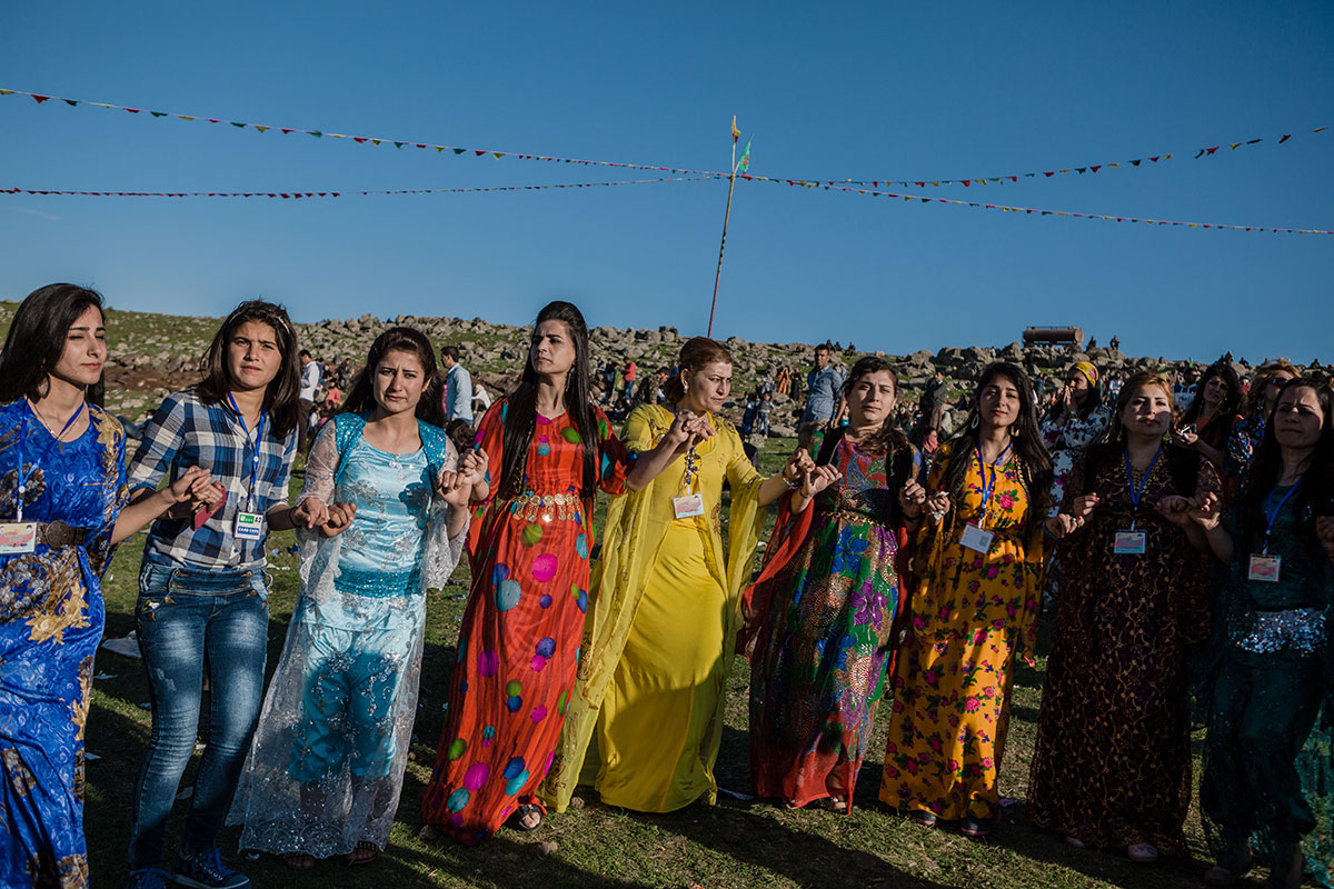 Syrian kurds celebrate newroz amid tensions al jazeera for Traditional photos