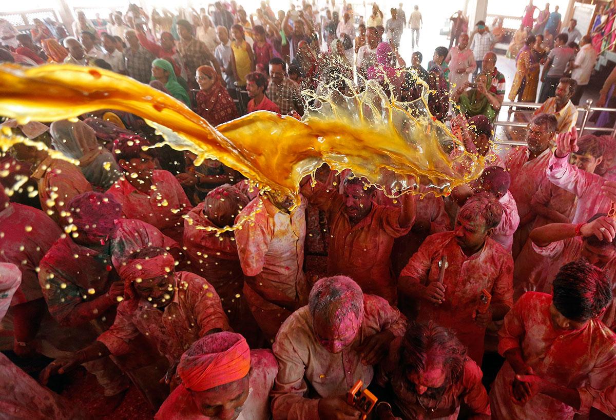 Holi festival of colours celebrated with fervour - Al Jazeera English