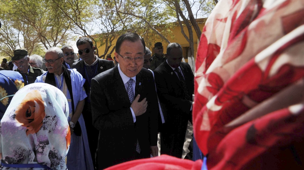 Ban Ki-moon regrets a 'misunderstanding' over using the word 'occupation' to describe Morocco's annexation of W.Sahara.