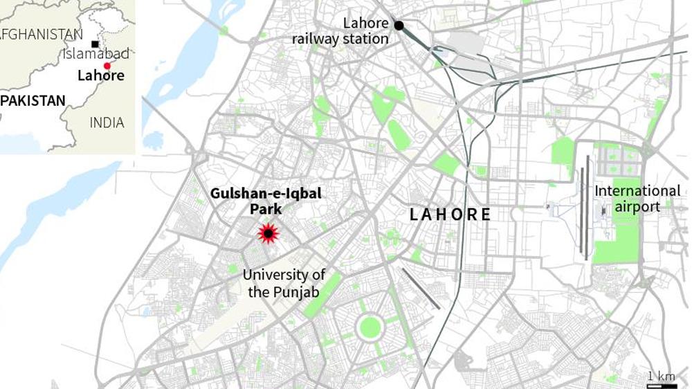 Lahore World Map.Lahore Bombing Pakistan Mourns As Death Toll Rises Pakistan News