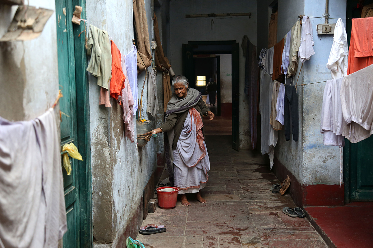 Thousands of widows, most of them disowned and abandoned by their families, live in deplorable living conditions in the cities of Vrindavan and Mathura. [Showkat Shafi/Al Jazeera]