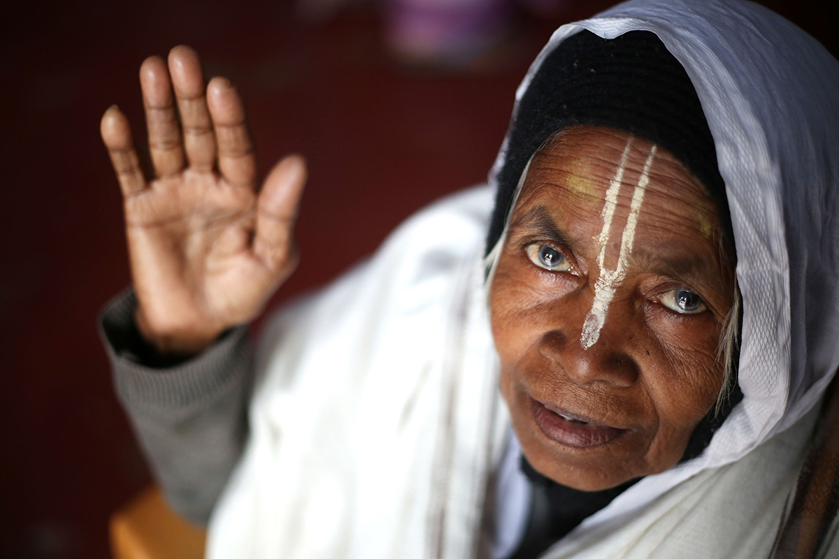 Widows in India: My children threw me out of the house