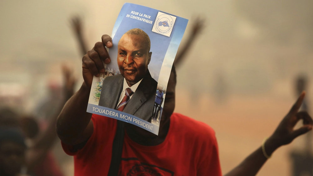 Faustin Touadera is the country's first elected president of the Central African Republic in three years.