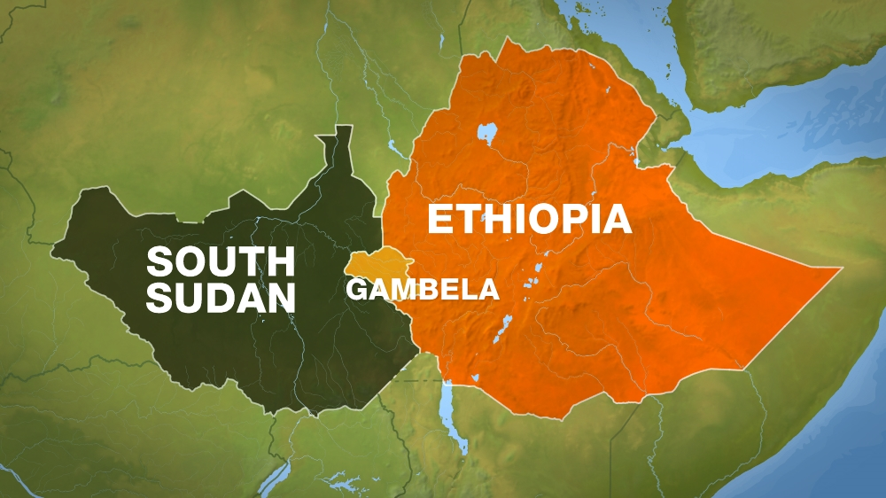 Minister says troops may cross border to pursue assailants after deadly raid in Ethiopia's Gambela region.