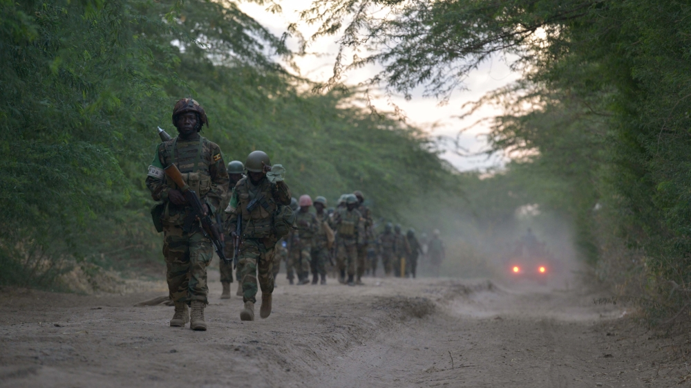 Somali group claims it has killed dozens of members of AMISOM force, which in turn says it has killed over 100 fighters.