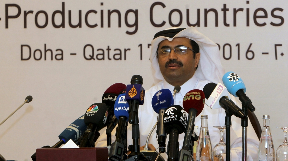 Opec Meeting Ends Without Deal On Oil Production Freeze News Al