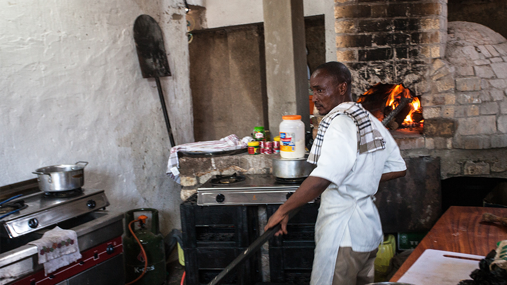 Region's first brick-oven pizza parlour hopes to inspire entrepreneurs and move the DRC beyond cycles of violence.