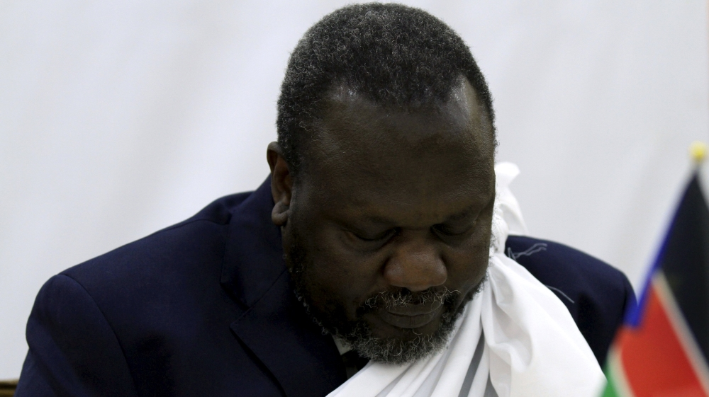 Effort to form unity government and end civil war thrown into limbo after return of Riek Machar is repeatedly delayed.