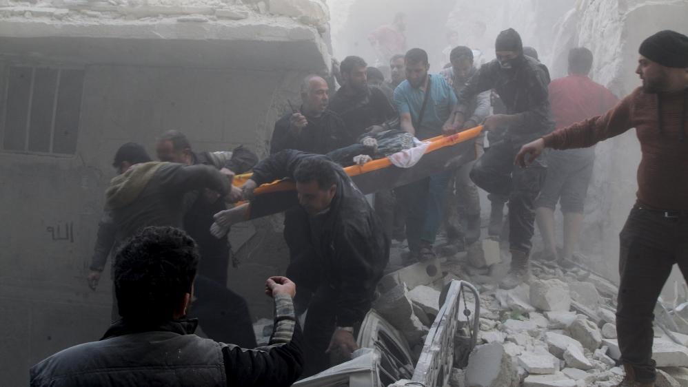 Syria Death Toll Un Envoy Estimates 400000 Killed News