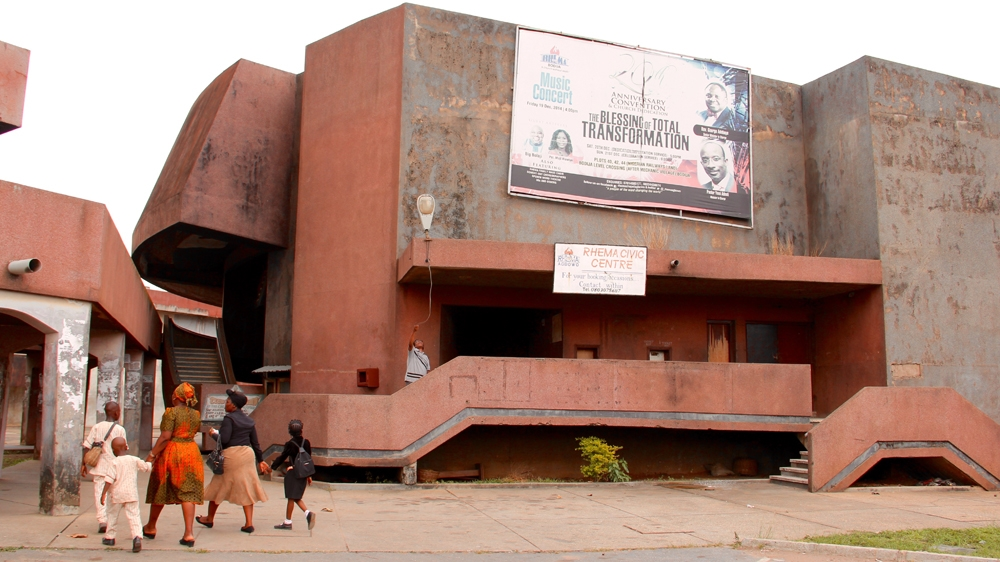 Ibadan was once the hub of Nigeria's film industry, but its cinemas have now been turned into churches and malls.