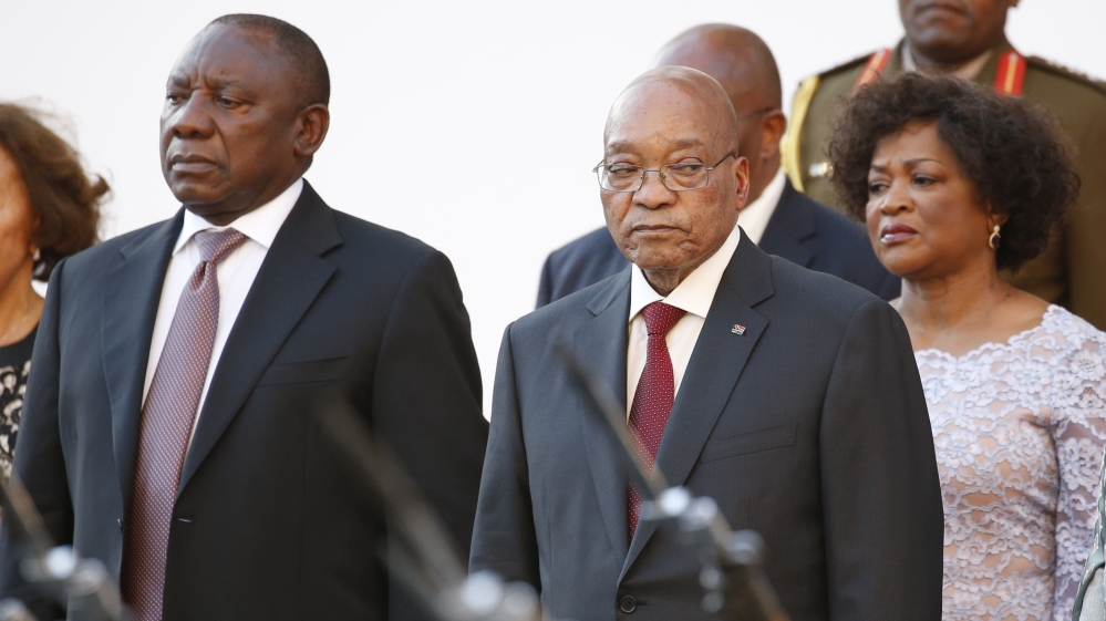 Jacob Zuma faces the vote in parliament after the country's top  court ruled that he had violated the constitution.