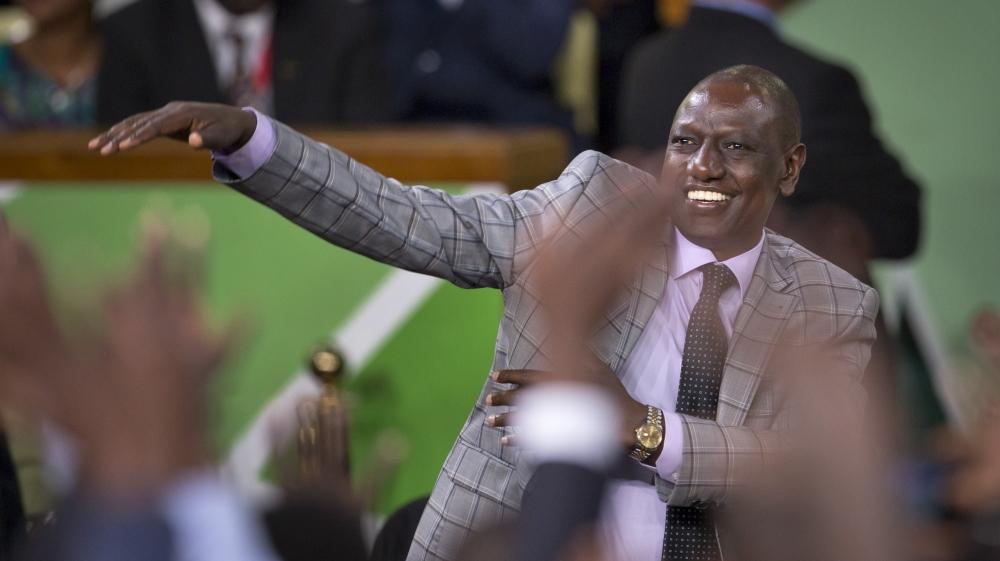 The ICC has terminated the case against Kenya's deputy president over insufficient evidence.