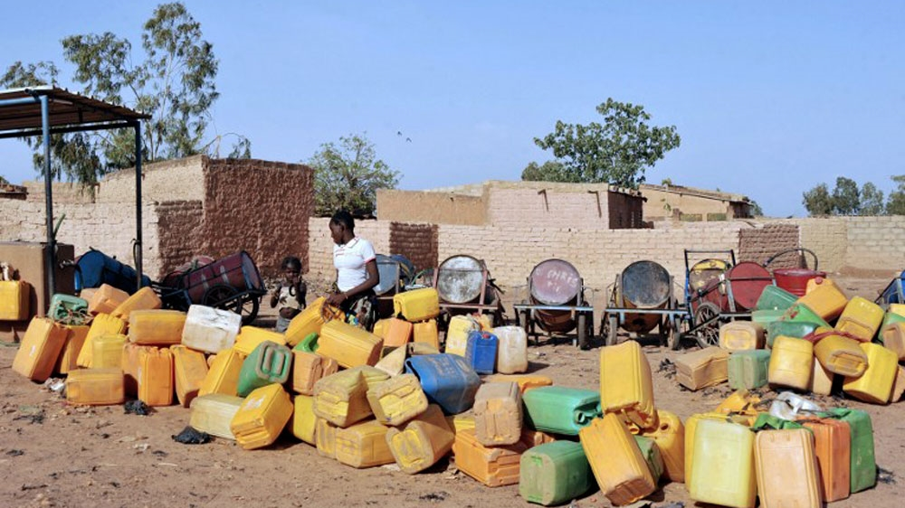 An intense dry season across the Sahel region leads to severe heat, causing water and power cuts for millions.