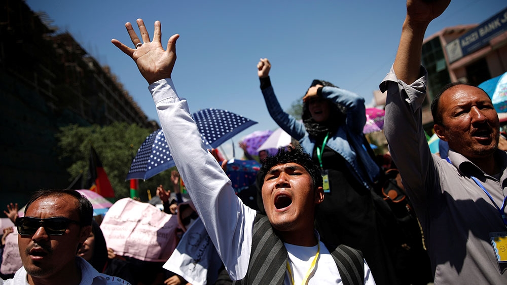 Afghan power project prompts Hazara protest in Kabul | News