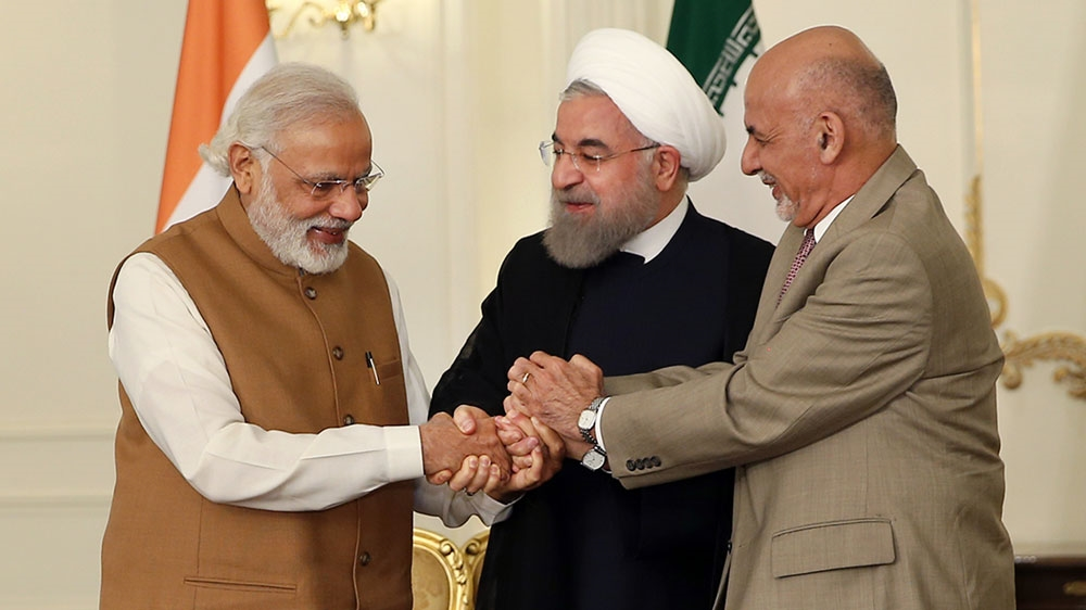 Indian Iran And Afghanistan Sign Trade Corridor Deal News Al