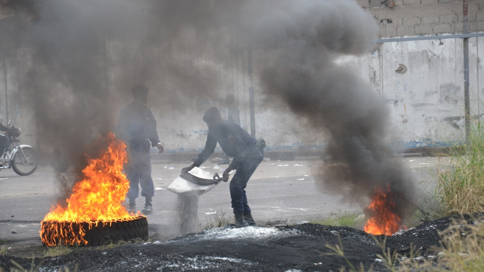 Rallies called by dissidents to oppose Kabila's plan to stay on as caretaker president after expiry of his second term.