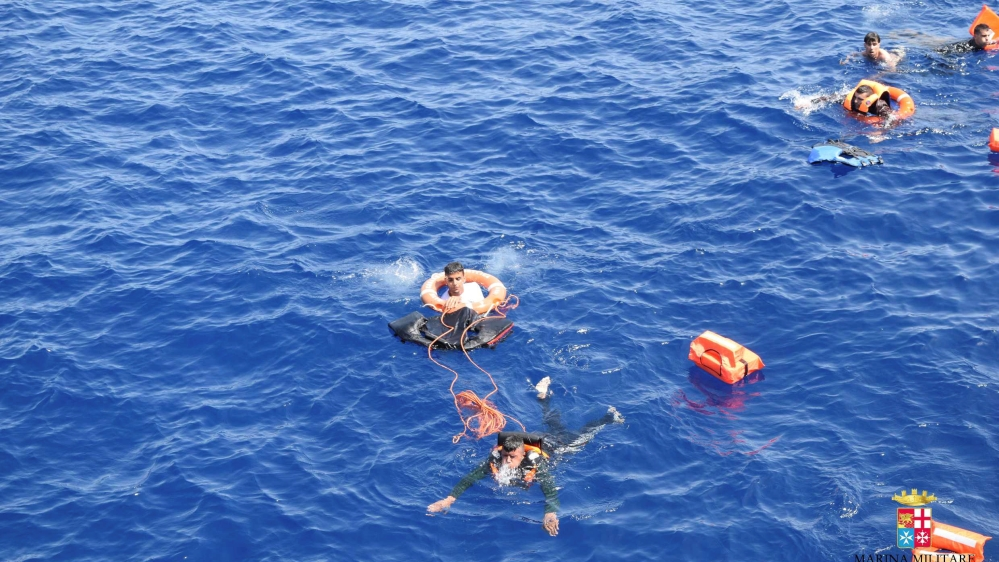 Two refugee boats capsize in 24 hours off Libya coast | News | Al