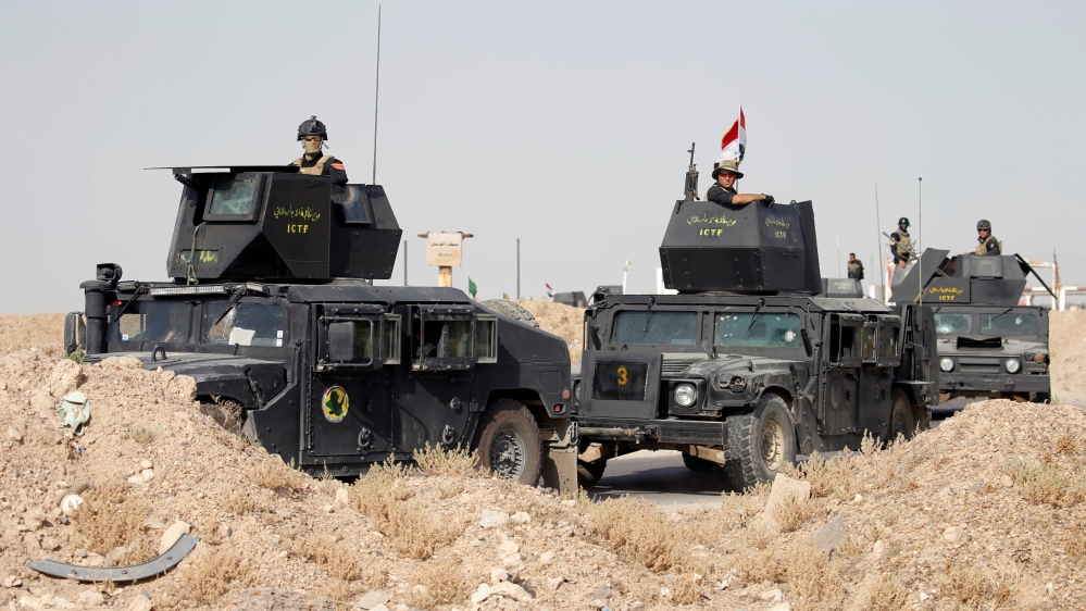 Fallujah Iraqi Forces Closing In On Isil Held City