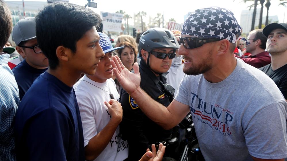 Trump rally San Diego