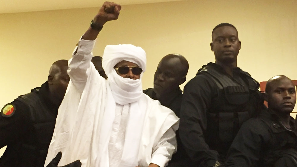 Former military ruler Hissene Habre was jailed for crimes against humanity last month by a special court in Senegal.