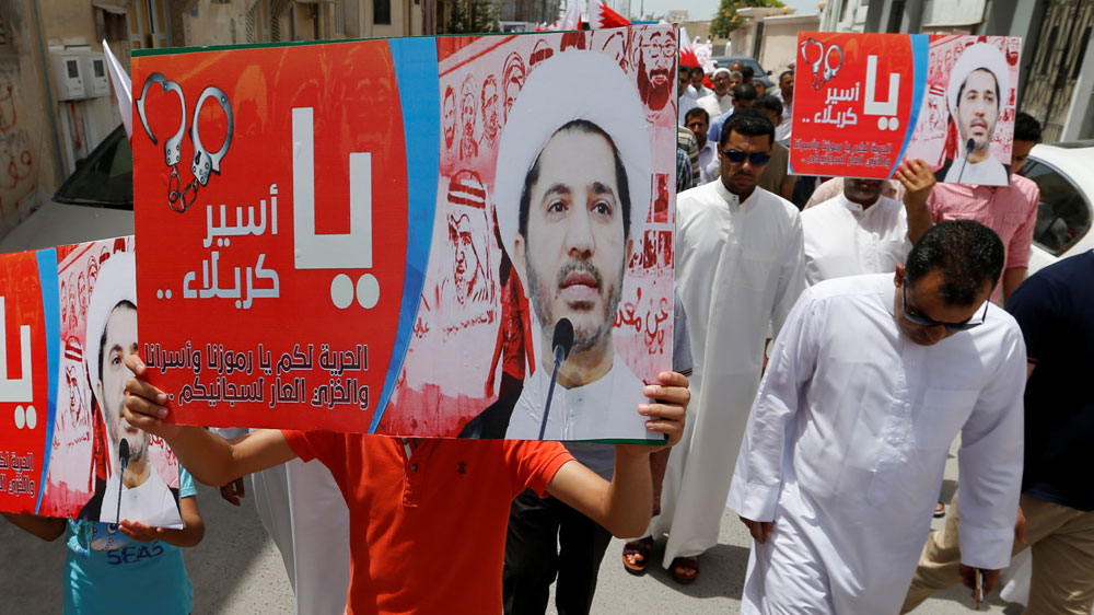 Bahrain ramps up opposition chief Ali Salman's sentence