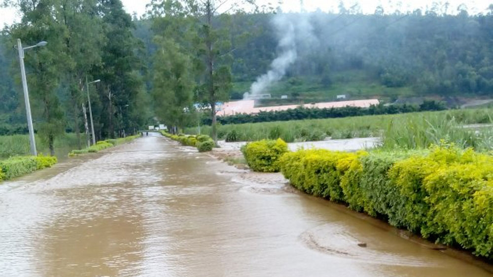 Nearly 50 people dead after torrential downpours cause landslides in north of country.