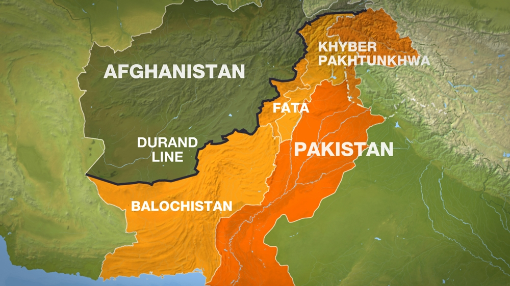Torkham Restrictions Stir PakistanAfghanistan Tension - Us invasion of afghanistan everyday map