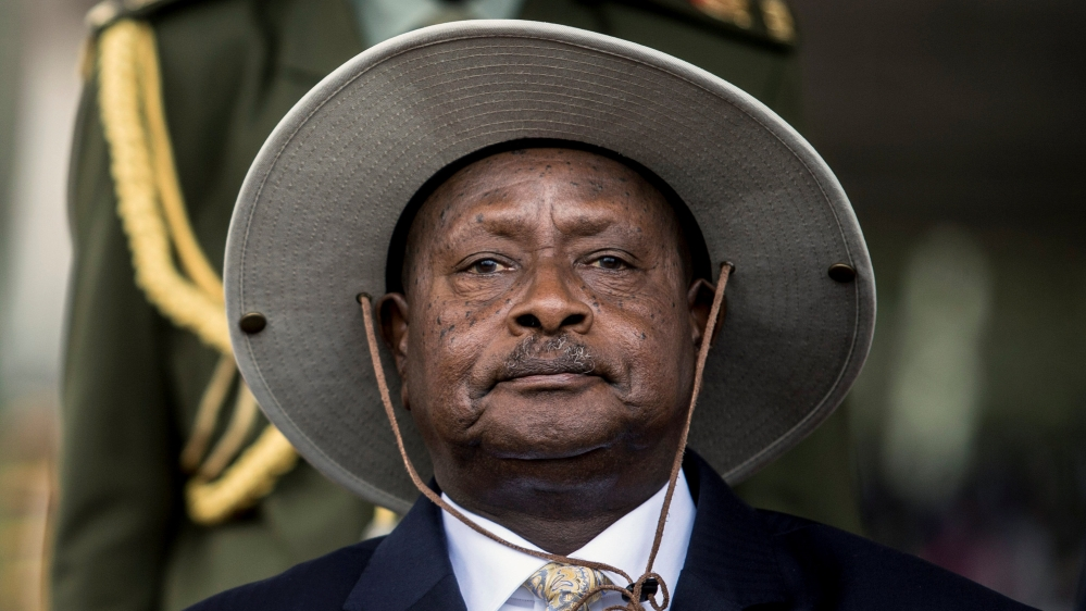 Soldiers and an opposition MP among those suspected of planning an armed uprising against President Yoweri Museveni.