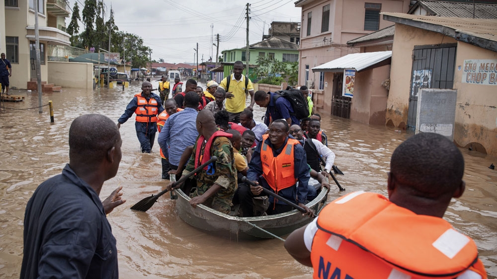Deadly downpours cause widespread flooding along the Cape Coast as the West African wet season intensifies.