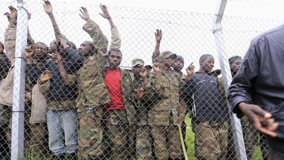 Violence blamed on move by troops to prevent former M23 fighters from leaving camp for demobilised rebels in southeast.
