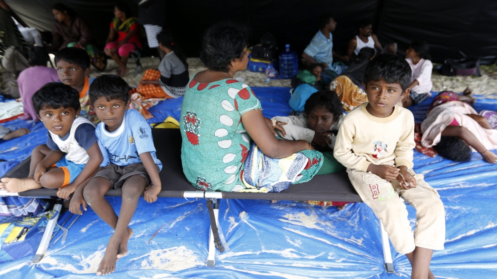 The UN says the number of refugees reached a record high of more than 60 million people last year.