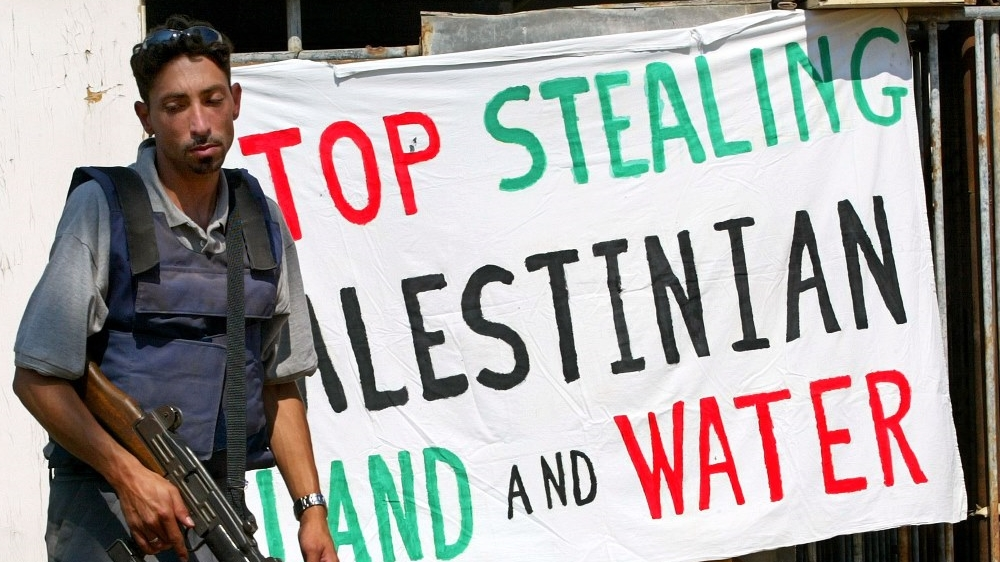 Image result for Palestine water