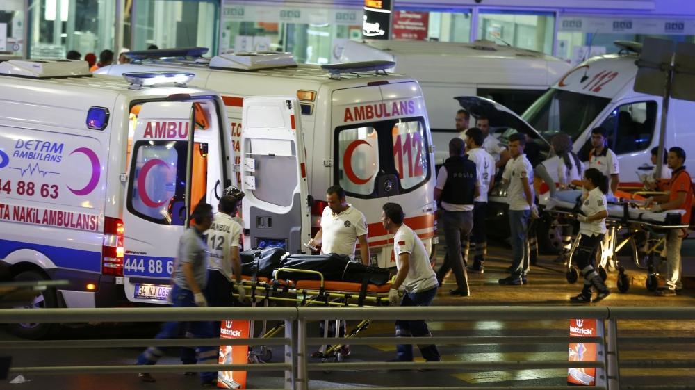 Turkey: 28 killed in explosions at Ataturk Airport