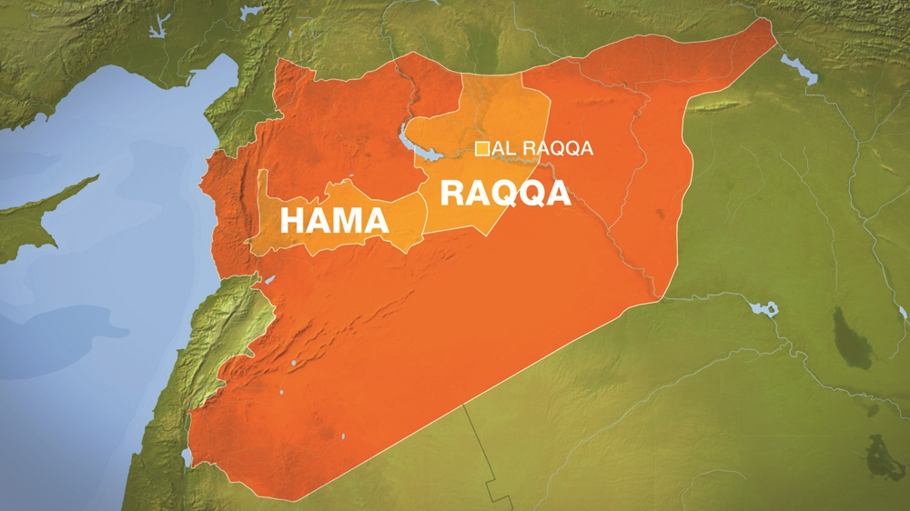 Syrian army 'crosses into Raqqa province'
