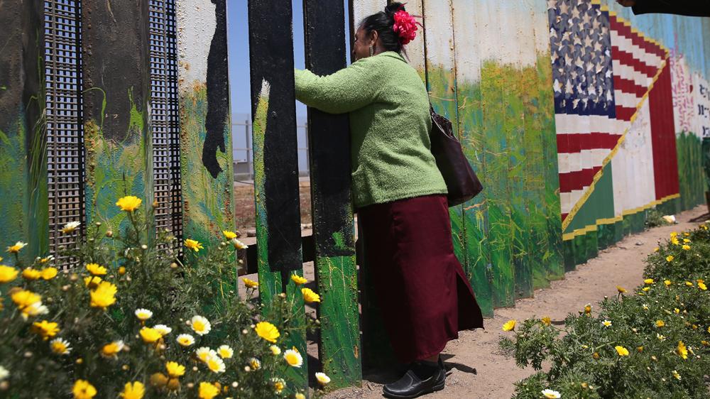 Walls Of Shame The Us Mexico Border Wall Migrants Al