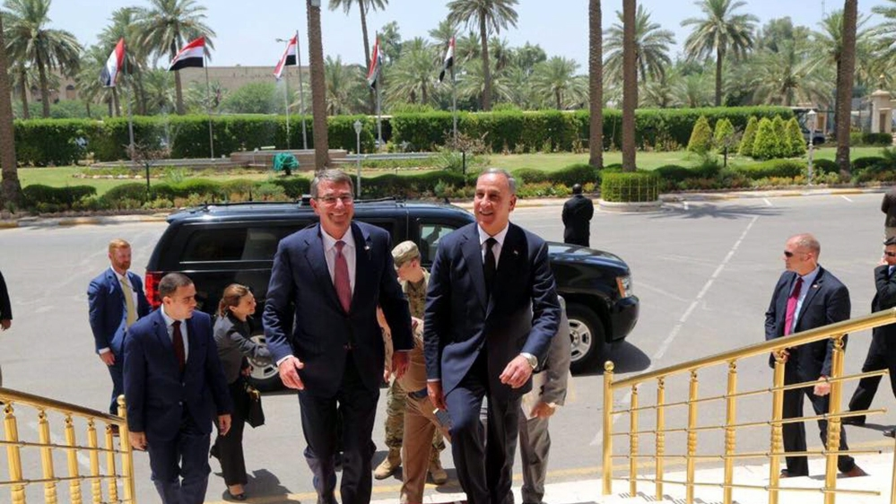 Ashton Carton made the comments as he made an unnannounced visit to the Iraqi capital