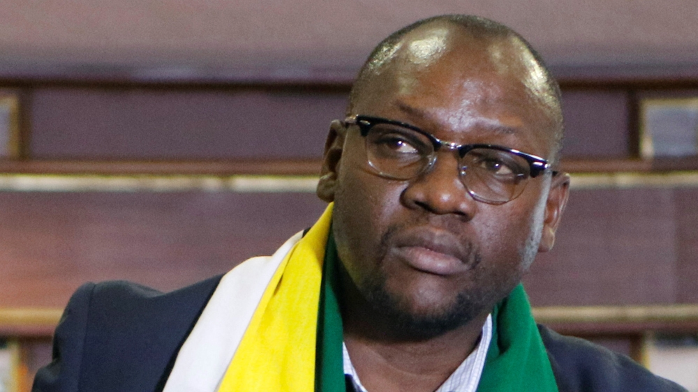 Zimbabwean president accuses pastor who led protests of being backed by countries set on destabilising the government.