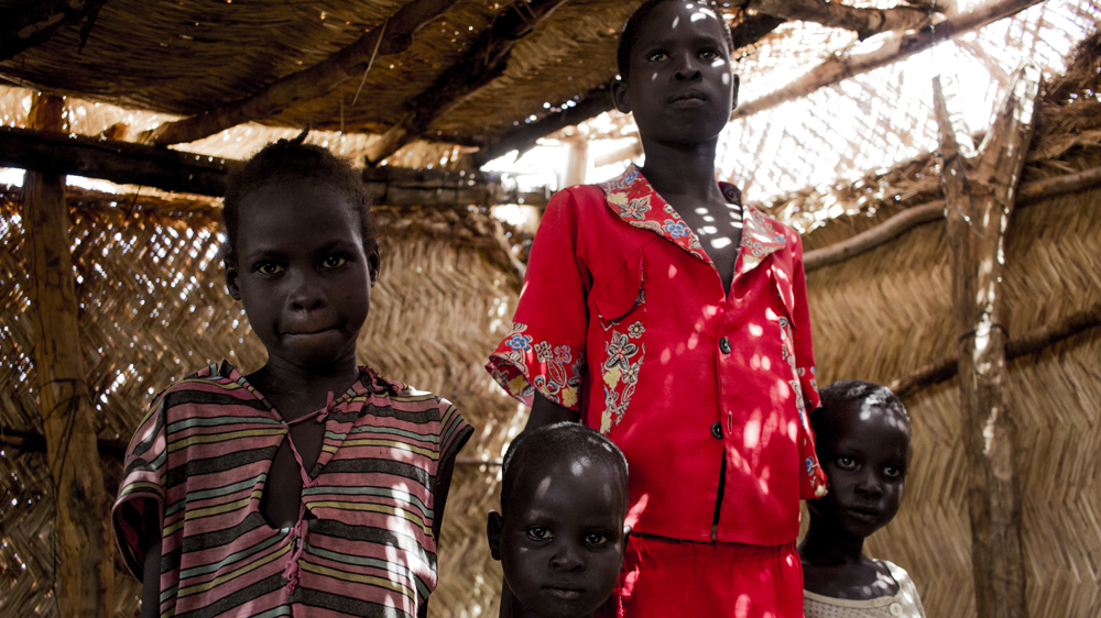 Parents of 300 children have fled without them from Northern Bahr El Ghazal because of worsening mass hunger.