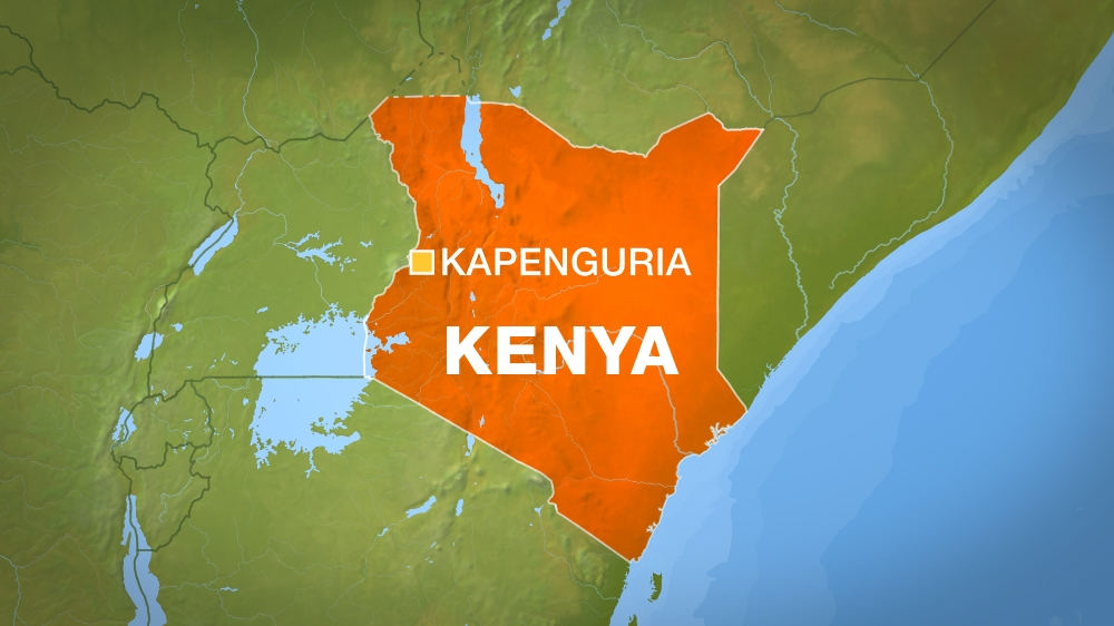 Deaths reported after suspect grabs gun and shoots officers at Kapenguria police station in western Kenya.