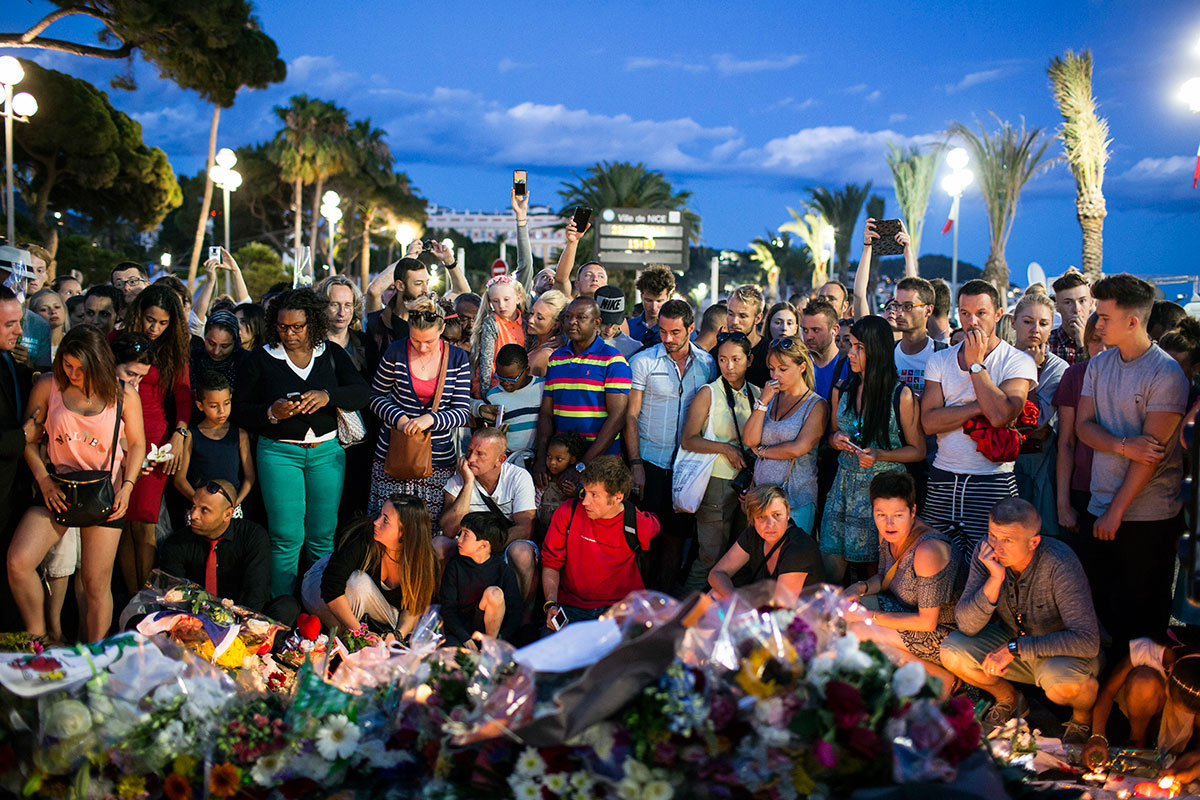 Mourning for nice tears in france and beyond al jazeera for World nice photo