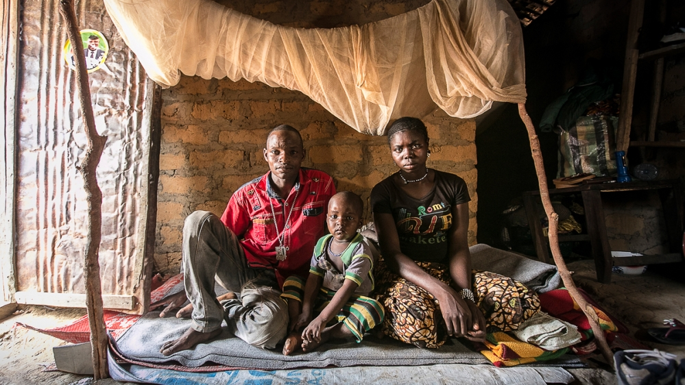 From village to village, people share stories of being forced to flee as armed groups attacked and burned their homes.