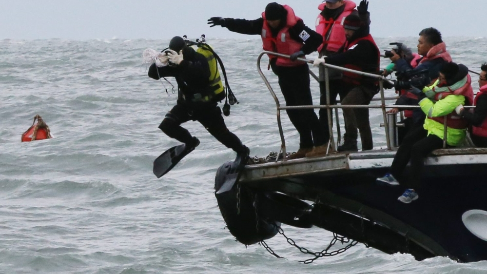 A diver's pain: Living with the ghost of Sewol tragedy