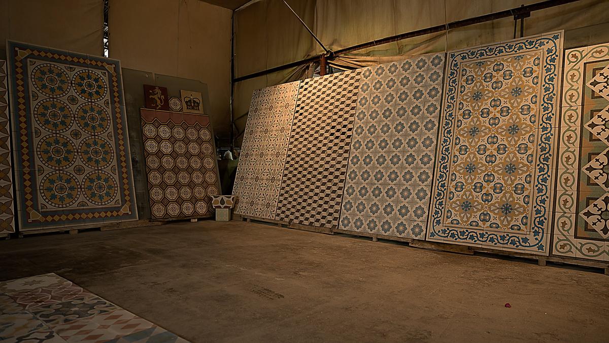 Floor Tile Showrooms : Lebanese artisan revives mosaic tile tradition lebanon