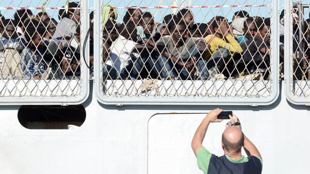 Almost 20 people died each day trying to cross the Mediterranean to reach Europe.