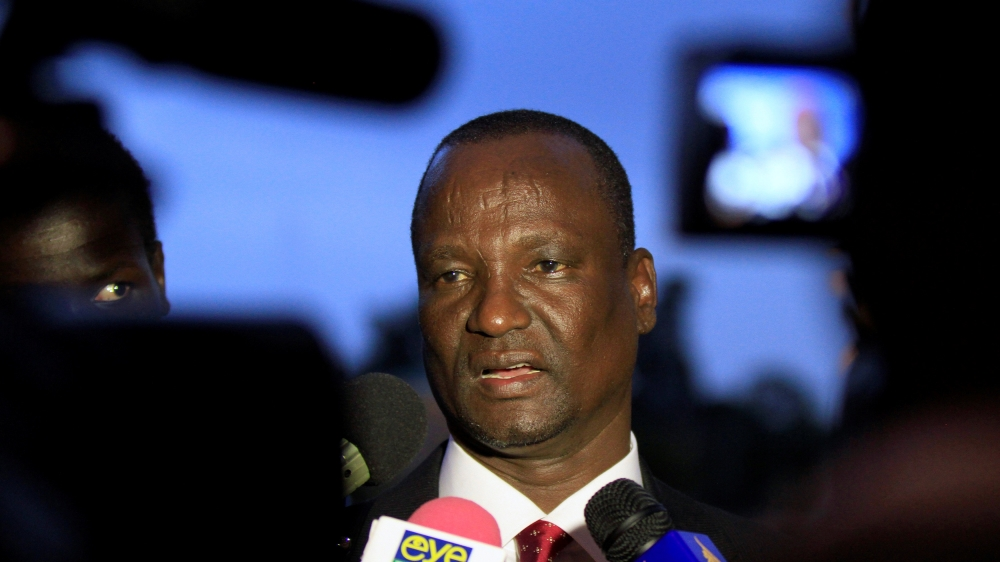 Government accepts decision to install rebels' chief negotiator Taban Deng as leader, but Machar rejects the move.