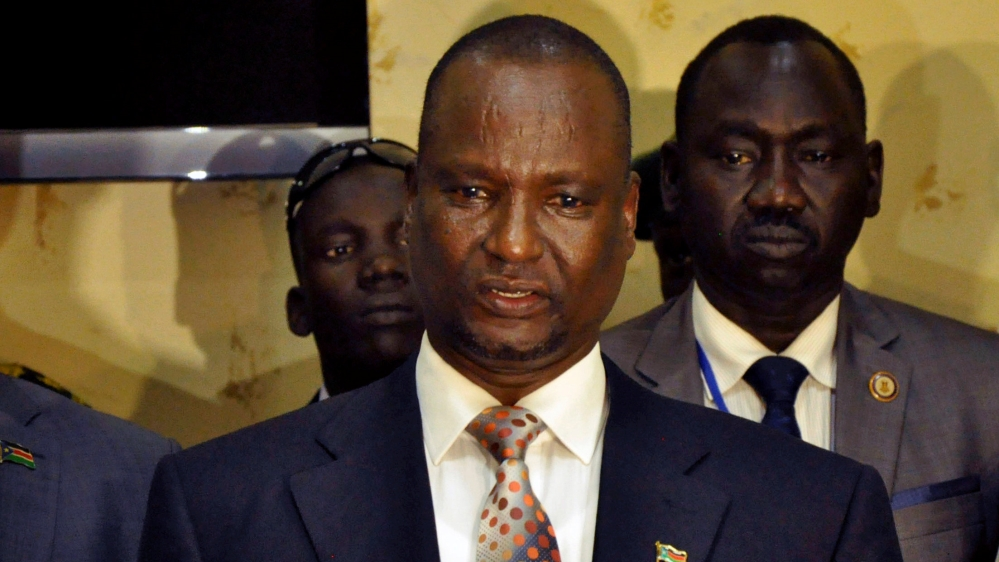 Contrary to reports, Taban Deng Gai tells Al Jazeera he has not been formally dismissed by Machar and is ready to lead.