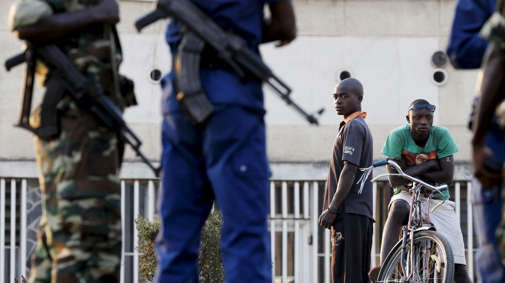 Burundi insists its security forces are in control, while recent waves of violence leave more than 500 dead.